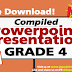 Grade 4 - POWERPOINT PRESENTATION LESSONS (Updated)