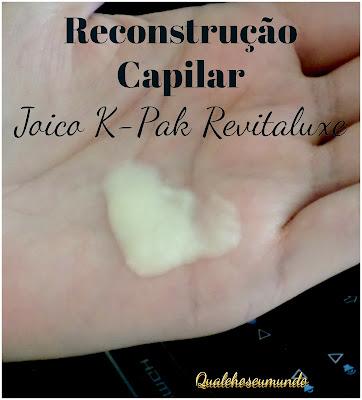 reconstrução capilar