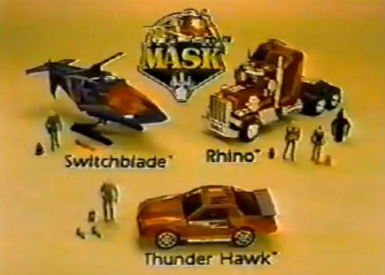 M.A.S.K. Series One Toys