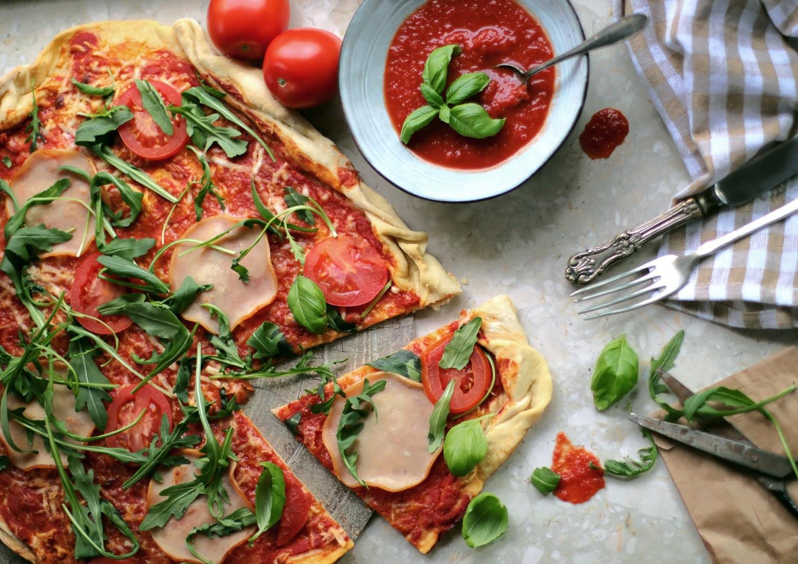 Pizza idealna.
