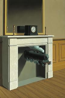 René Magritte, La Durée poignardée, 1938