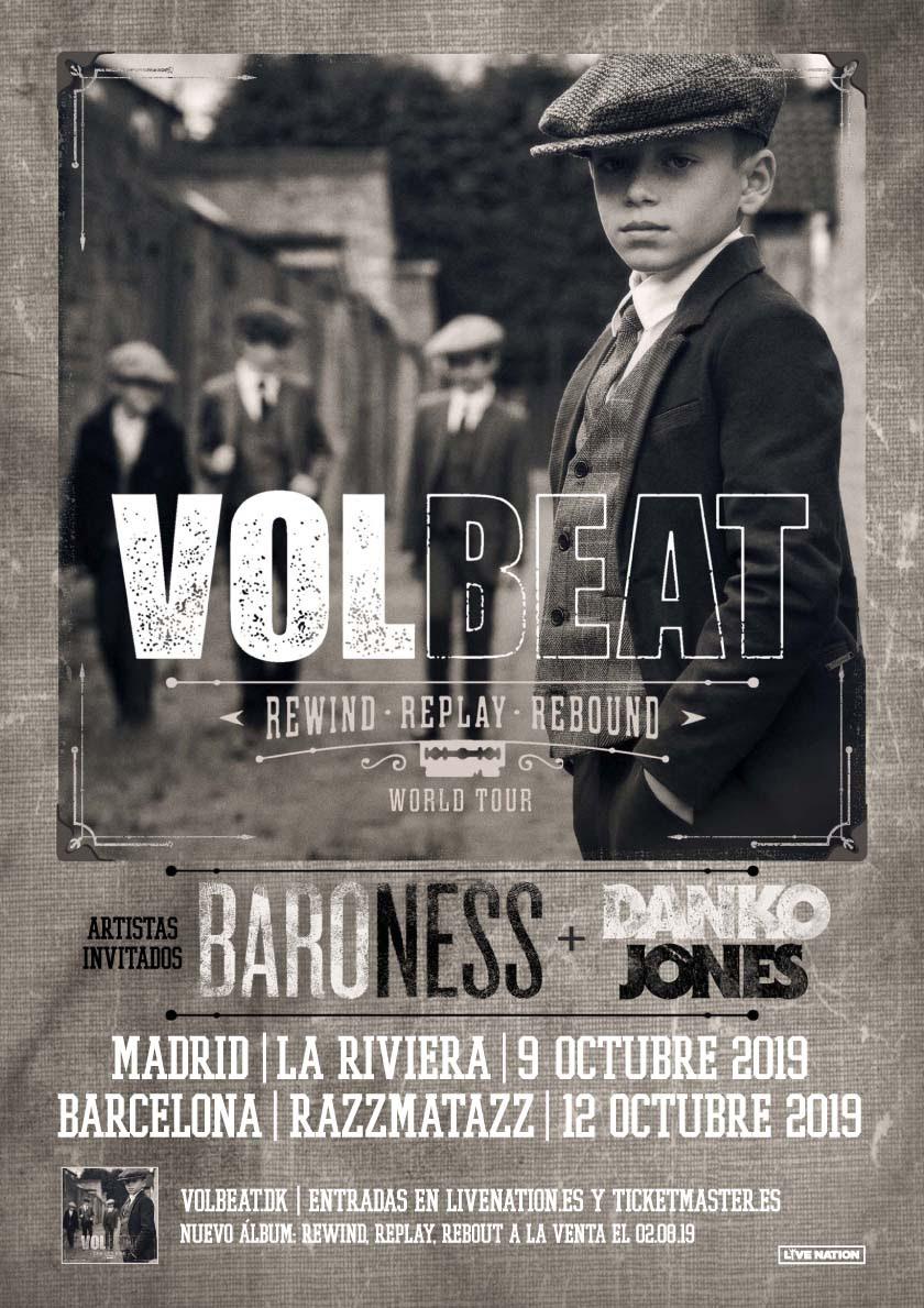 Volbeat+Baroness+Danko Jones