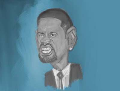 Caricature - Will Smith - WIP!