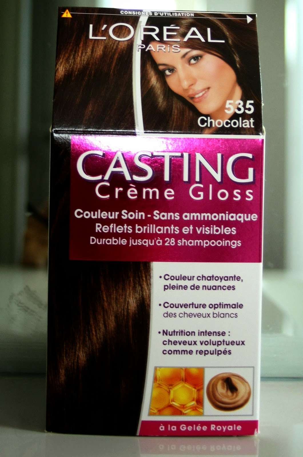 make up by linoa casting creme gloss de loreal 535 chocolat - Coloration Gloss Chocolat