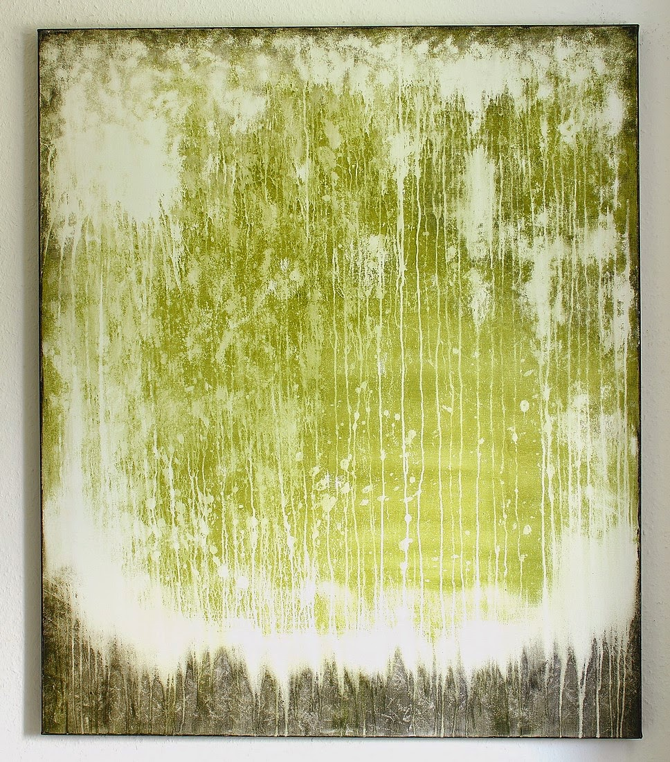 christian hetzel green painting. Black Bedroom Furniture Sets. Home Design Ideas
