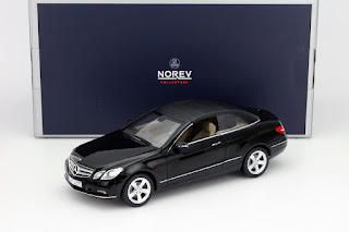 Mercedes-Benz E-Class Year 2010 black 1:18 Norev