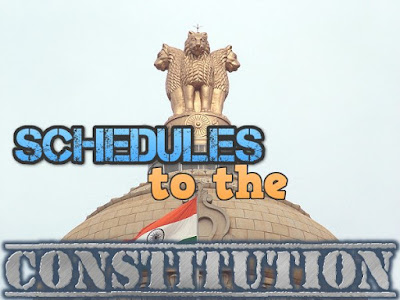 Schedules to the Indian Constitution
