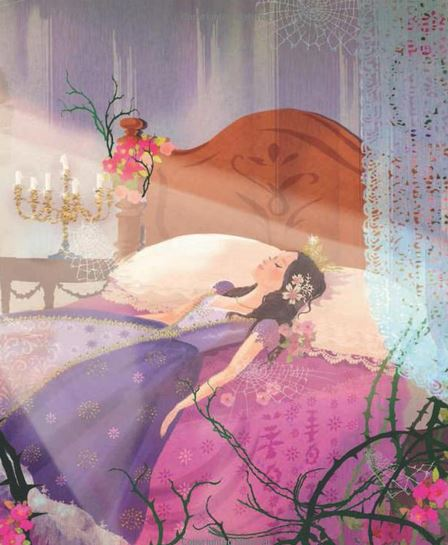 SurLaLune Fairy Tales Blog: New Book: Sleeping Beauty: Based on the