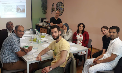 IQ Projekt Perspektiven aufzeigen - Workshop 23.6. 108 Foto: Alexander Leifels