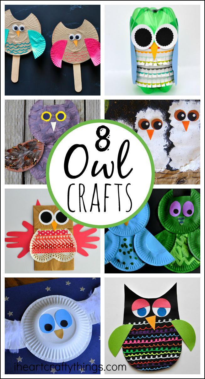 8 Owl Crafts For Kids I Heart Crafty Things