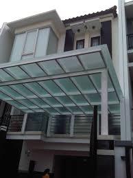 jasa pembuatan canopy kaca tempered