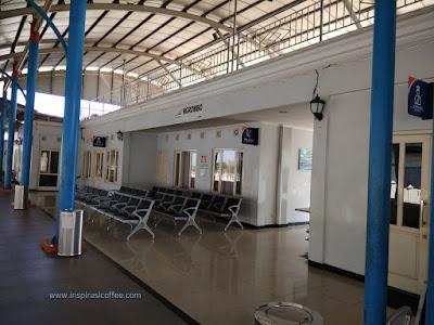 penampakan stasiun Ngrombo Grobokan Jawa Tengah