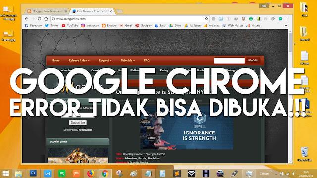 Sebenarnya mudah saja mengatasi Google Chrome tidak bisa di buka pada laptop tidak muncul