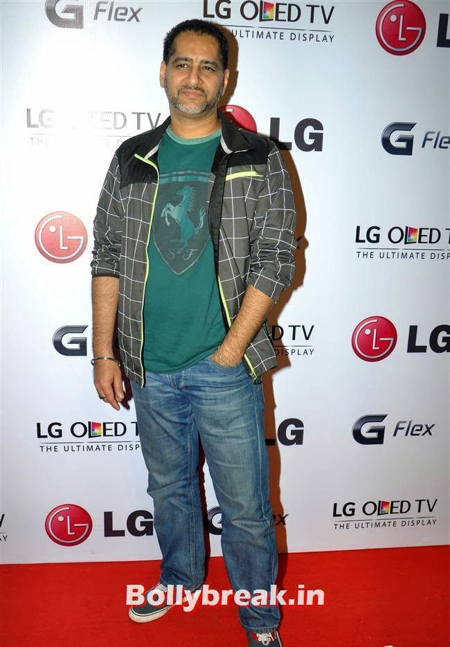 Vikram Bawa, Celebs at LG G Flex Smartphone Launch