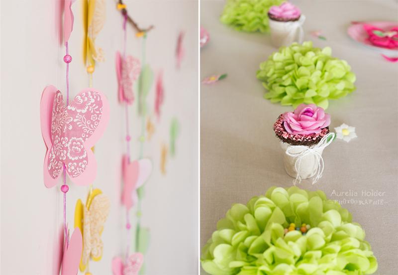decoration anniversaire theme fleurs