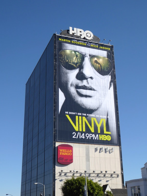 Vinyl series premiere billboard
