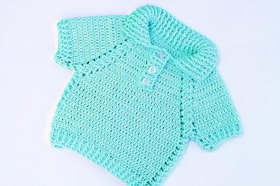 7 - Crochet IMAGEN Jersey de niño y niña a crochet muy facil y rapido
