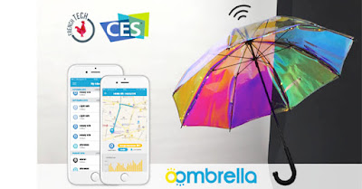 Oombrella, Payung Canggih Yang Mampu Mendeteksi Kapan Tibanya Hujan