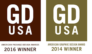 Packaging Design Winner - Logo Design Winner - Branding Design Winner - Studio 101 West Marketing & Design