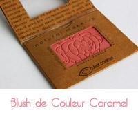 blush de couleur caramel