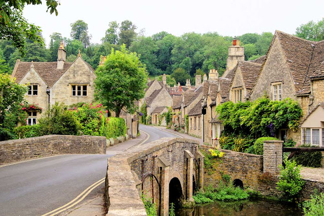The very pretty Castle Combe - South Cotswolds
