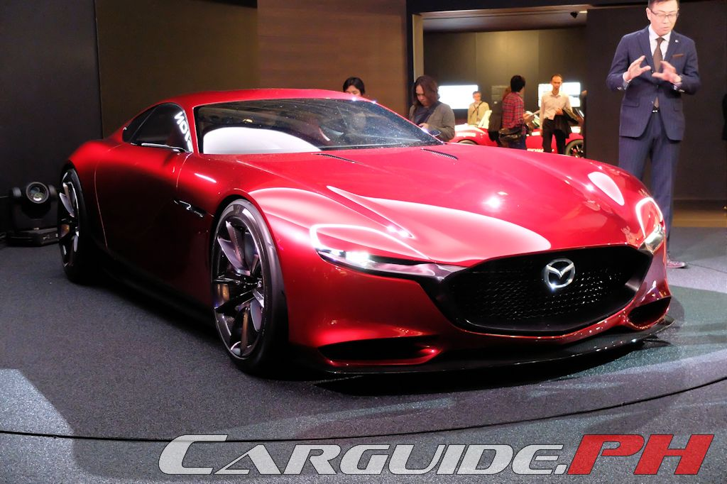 Tokyo Motor Show 2015: RX Vision Concept Is Clear Sign Of Mazdau0027s Never  Stop Challenging Spirit