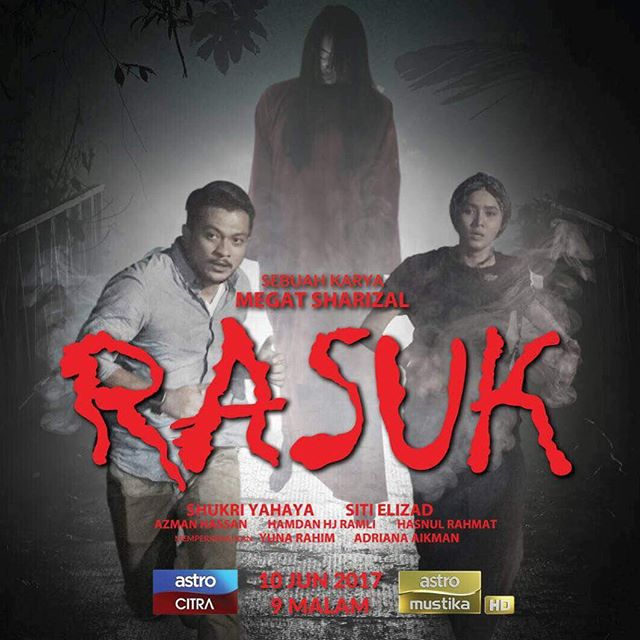 Telemovie Rasuk Lakonan  Shukri Yahaya, Siti Elizad