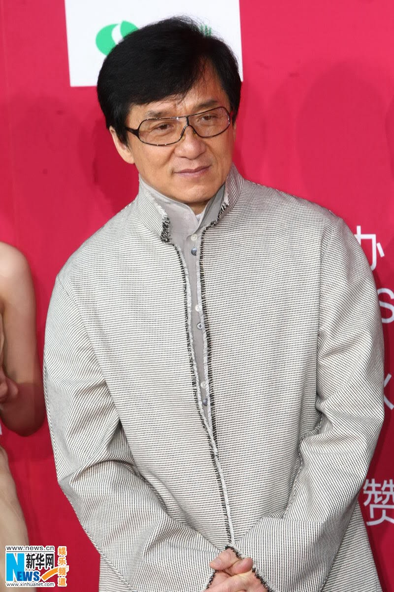 Jackie Chan And Zhang Ziyi Pose On The Red Carpet China