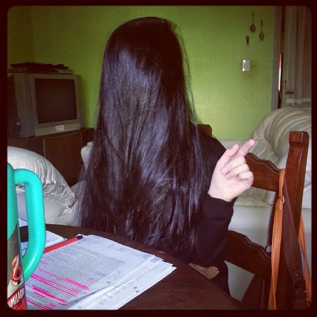 Long Hair Over Face Instagram Series 14-6588