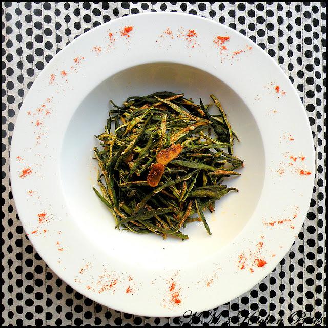 Microwave Bhindi recipe mmskitchenbites