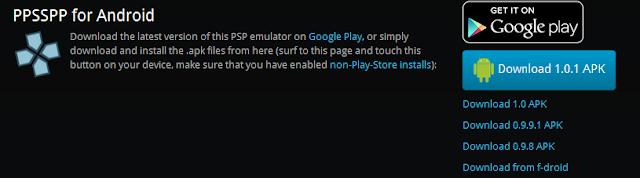 Cara Bermain Game PSP Atau Game PS Di Android