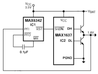 AUTO RETRY fOR MAX1637 STEP DOWN CONTROLLER ELECTRONIC
