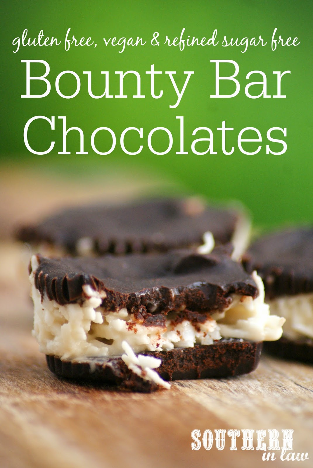 Homemade Gluten Free Bounty Bar Chocolate Cups Recipe - gluten free, refined sugar free, healthy, vegan, egg free, dairy free