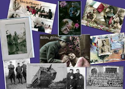 album cpa et photos 1914-1918