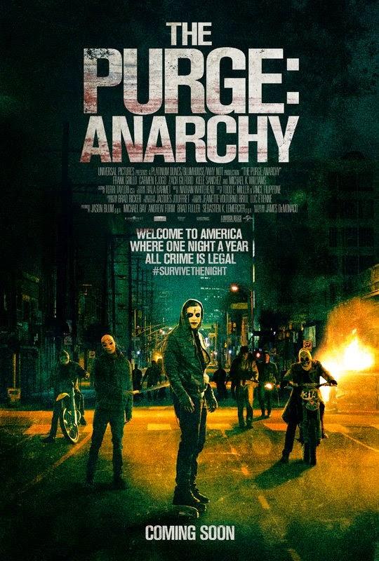The Purge 2: Anarchy เดอะ เพิร์จ คืนอำมหิต: คืนล่าฆ่าไม่ผิด [HD][พากย์ไทย]