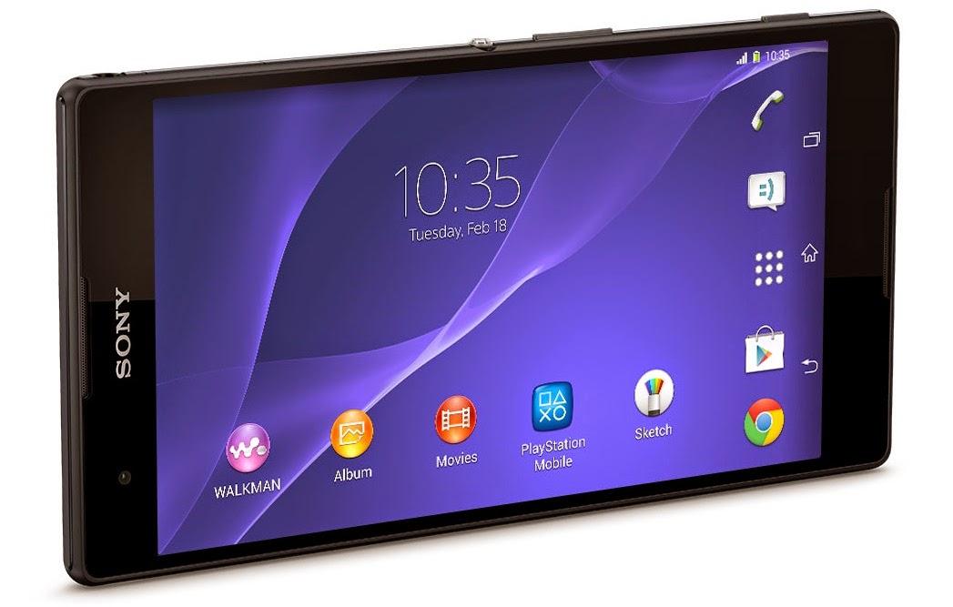 Spesifikasi dan Harga Sony Xperia T2 Ultra