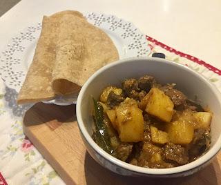 beef potato curry