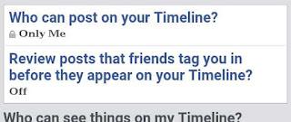 apni facebook timeline me kisi or ko post or tag karne se kese roke 3