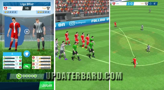Link Download Game Soccer Star 2017 Top Leagues Mod Unlimited Money APK Full Data Obb For Android Versi Update Terbaru: