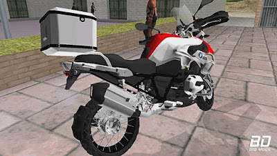 Download mod moto BMW GS1200 para GTA San Andreas , GTA SA Jogo PC