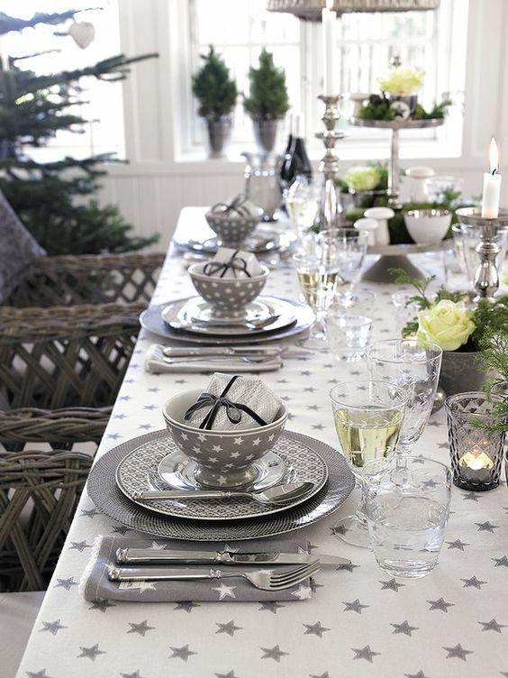10 ideas para una mesa de Navidad elegante