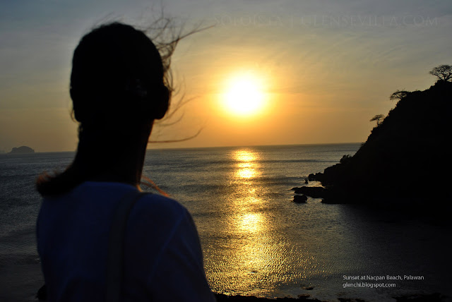 Nacpan Beach El Nido Palawan, Sunset