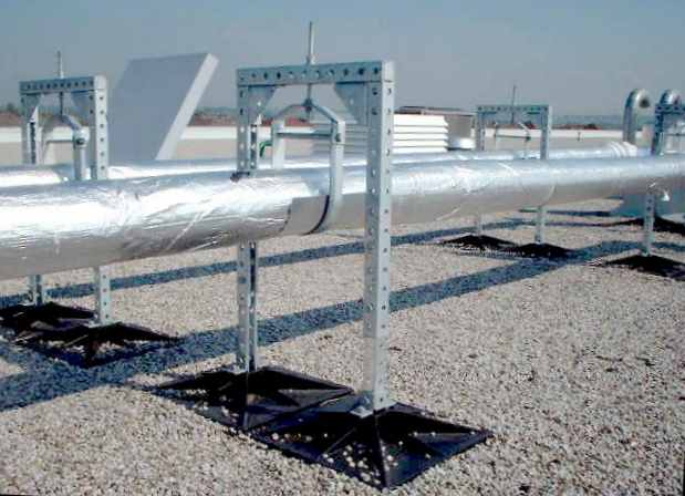Rooftop Support Systems Amp C Rubber Support Series With