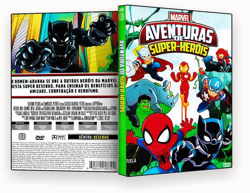 MARVEL AVENTURAS DE SUPER HEROIS – ISO