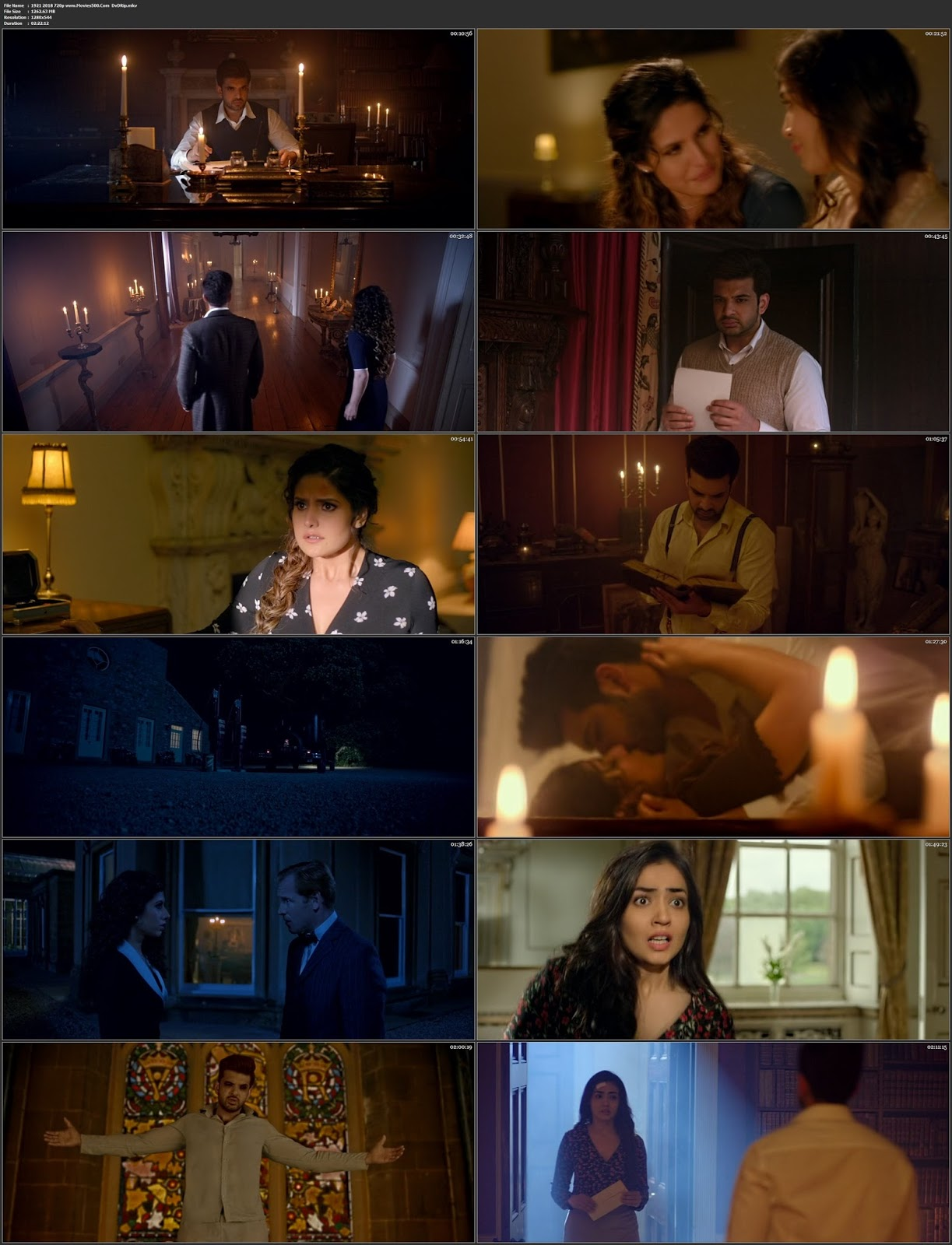 1921 Hindi 2018 Bollywood 300MB DVDRip 480p Esubs at movies500.info