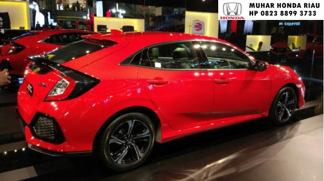 Info Harga Honda Civic Turbo Hatchback 2017 Pekanbaru Riau