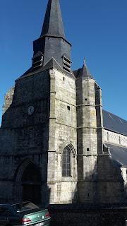 Saint Martin à Cany Barville, siège de la paroisse Saint-Mellon