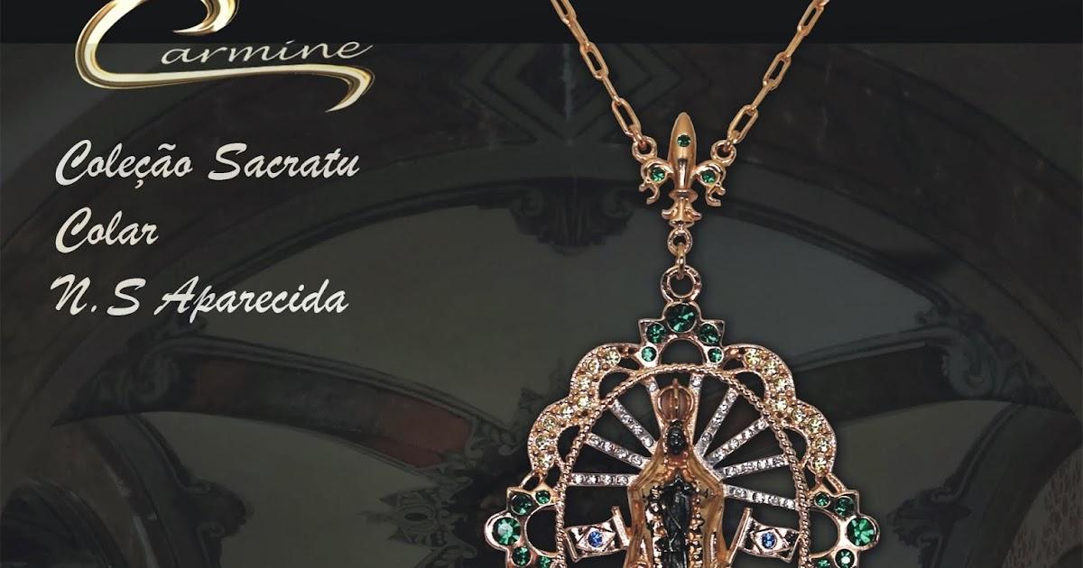 Nossa Senhora Aparecida Joias: Joias Carmine: Medalhas De Nossa Senhora Aparecida