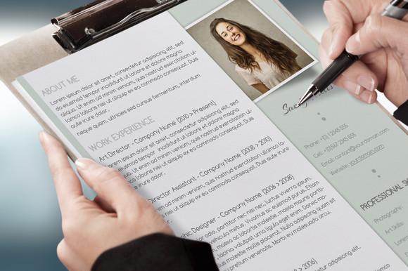 Ücretiz CV Tasarımı