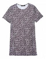Vestido Camiseta Onça